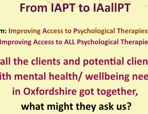 How to Improve Access to ALL the Psychological Therapies?
