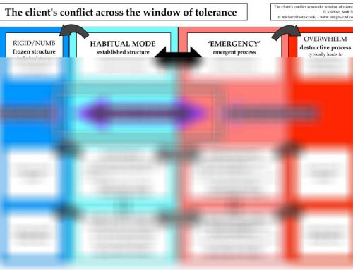 The Client's Conflict across the Window of Tolerance (2015)